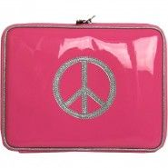 Anne-Charlotte Goutal Protege Ipad peace and love bicolore peace and love rose et argent http://www.matemonsac.com/nos-createurs/tous-nos-createurs/anne-charlotte-goutal.html