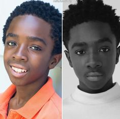 Caleb McLaughlin // Lucas Sinclair - such a handsome young man! Stranger Things Spoilers, Stranger Things Theme, Before And After Puberty, Duffer Brothers, Cosplay Armor, Movies Playing, Fantasy Armor, Gossip Girl, Weird