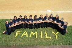 My softball team is my second family.