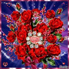 See the PicMix ♡ For you ♡ belonging to on PicMix. Beautiful Flowers Images, Beautiful Nature Wallpaper, Beautiful Gif, Flower Images, Beautiful Roses, Coeur Gif, Kristen Stewart Pictures, Flowers Gif, Love You Images