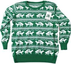 Reindeer Humping Ugly Christmas Sweater | Jewelry And Bling