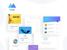 Magic UI Kit
