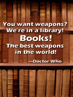 Dr who quote Scilence In The Library