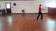 Blue Ain't You line dance by Sue Ann Ehmann - Demo & Teach