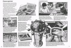 1982 - the future of games - sehr cool zu sehen, wie man sich 1982 die zukunft der computerspiele vorgestellt  hat.
