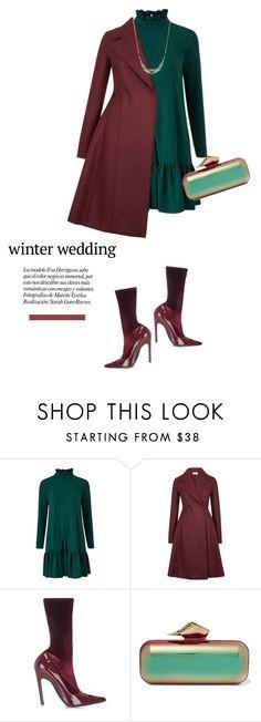 """True Romance: Winter Wedding"" by kts-desilva ❤ liked on Polyvore featuring Traffic People, Harris Wharf London, Balenciaga, Jimmy Choo, Orelia and winterwedding"