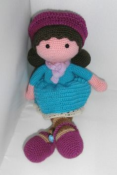 muñeca ideal a crochet