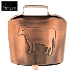"2"" Cow Bell with Logo"