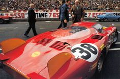 Carlo Chiti Le Mans Alfa Romeo 33.