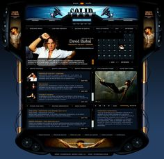 Solid Show - Web Interface by detrans on DeviantArt