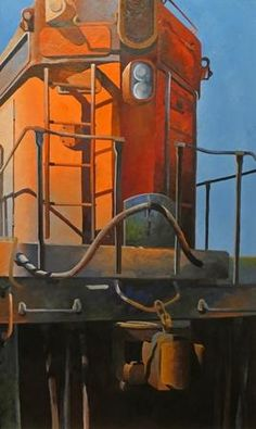 Dana Brown Train Front :: River Gallery