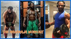Jinder Mahal Workout For His Match With Randy Orton  -WWE