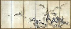 Japanese Screen, Japanese Art, Padded Wall Panels, Huckleberry Pie, Zen Painting, Draw On Photos, Chinese Style, Chinoiserie, Asian Art