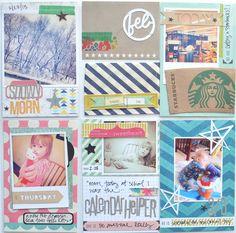 Jennifer's My Favorite Scrapbook Circle Kit Project Life Ideas