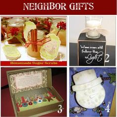 24 Homemade Christmas Gifts for Neighbors