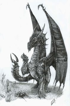 Black Dragon by AlphonseCapone on DA