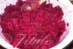 Červená řepa s křenem   jitulciny-recepty.cz Caviar, Cabbage, Fish, Meat, Vegetables, Gardening, Fine Dining, Pisces, Lawn And Garden