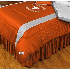 Texas Longhorns Comforter - Full/Queen, Orange