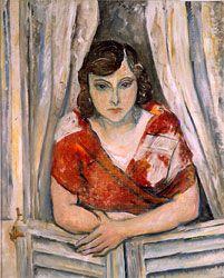 Osvaldo Licini, Women at the window