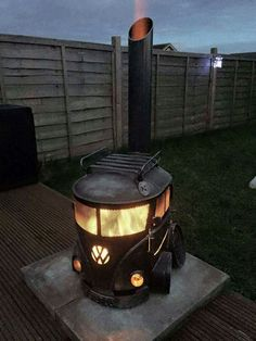 Cool fire pit