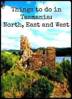Things to do in #Tasmania from my experiences living and travelling in my home state http://www.wheressharon.com/australian-travels/things-to-do-in-tasmania-north-east-west/ #Travel