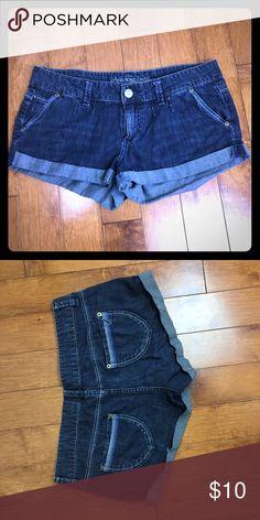 Denim shorts American Eagle Dark denim shorts. American Eagle Outfitters Shorts Jean Shorts