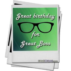 Boss Birthday Messages – Birthday Wishes for Boss