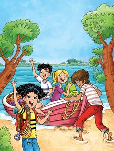 """Selection of covers and inside illustrations made for the new Spanish edition of """"The secret series"""" collection by Enid Blyton. Cartoon Images, Cartoon Art, Picture Story For Kids, Picture Comprehension, Writing Pictures, Picture Composition, Drawing School, Disney Animated Films, South African Artists"""