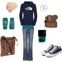 """Casual Fall Fasion"" by jmzilphiab on Polyvore"
