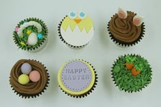 Adorned with adorable fondant toppers, our Easter themed cupcakes will bring a smile to the kids and even the adults out there. Themed Cupcakes, Birthday Cupcakes, Fondant Toppers, Cupcake Toppers, Yummy Cupcakes, Mini Cupcakes, Custom Cupcakes, Bite Size, Easter Ideas