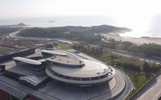 A Chinese tech company has modelled its headquarters on the USS Enterprise from the Star Trek sci-fi series