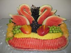 Fruit Platter Arrangements | ... platters top 2 tiered platters top baskets top custom arrangements top
