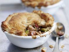 Truthahnkuchen (Pie) ist ein Rezept mit frischen Zutaten aus der Kategorie Pute. Probieren Sie dieses und weitere Rezepte von EAT SMARTER!