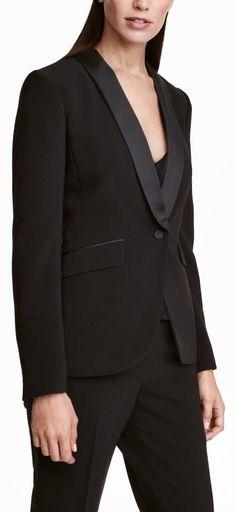 tuxedo blazer