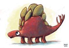 Random Stegosaurus by sketchinthoughts.deviantart.com on @deviantART