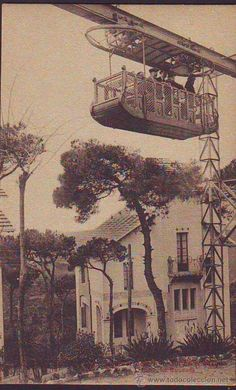 Aeri Tibidabo inaugurat al 1915 Barcelona Catalonia Barcelona Restaurants, Barcelona City, Barcelona Catalonia, Barcelona Travel, Old Photos, Vintage Photos, Modernisme, Best Cities, Wanderlust Travel