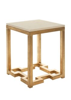 deco glam accent table