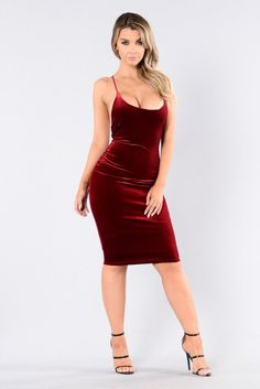 - Available in Black and Burgundy - Round Neckline - X Cross Back - Spaghetti Straps - Fitted - Polyester/Rayon/Spandex