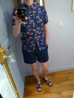 shoes from prada spring summer 2012 and shirt and short from Sandro