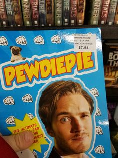 when a fake pewdiepie book is sold in your walmart