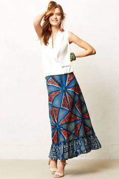 Legend & Song Dutch Wax Maxi Skirt #anthropologie. #Africanfashion #AfricanClothing #Africanprints #Ethnicprints #Africangirls #africanTradition #BeautifulAfricanGirls #AfricanStyle #AfricanBeads #Gele #Kente #Ankara #Nigerianfashion #Ghanaianfashion #Kenyanfashion #Burundifashion #senegalesefashion #Swahilifashion DK