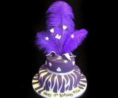 Google Image Result for http://www.celebration-cakes.co.uk/USERIMAGES/purple_feather_cake.jpg