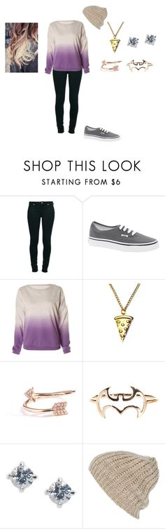 """""""Sem título #176"""" by suellen-p ❤ liked on Polyvore featuring 7 For All Mankind, Vans, Lazy Oaf, Diane Kordas, Lane Bryant and River Island"""