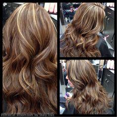 Brunette hair color inspiration