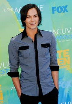 Tyler Blackburn.  That smile!
