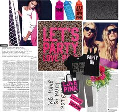 """Chill in Pink"" by kayluhn on Polyvore"