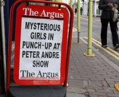"30 Brilliant Headlines From ""The Argus"""