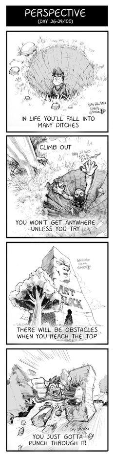 Mondo Mango :: Perspective (Day 26 - 29) | Tapastic Comics - image 1