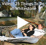 This is Whitestone Country Inn in Kingston, TN, a 600-acre AAA 4-Diamond B, Spa & Restaurant on scenic Watts Bar Lake.