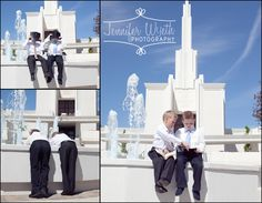 Boy LDS Baptism Pictures | Jennifer Wyeth Photography
